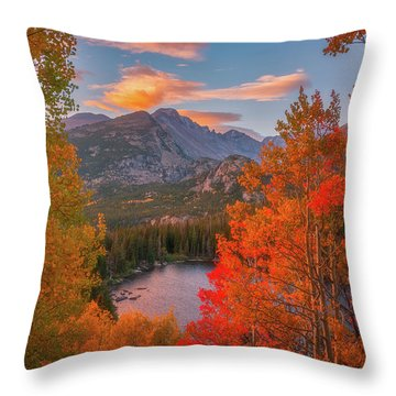 Autumn's Breath Throw Pillow