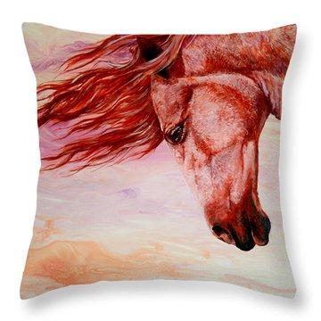 Autumn Breeze Throw Pillow by Sherry Shipley