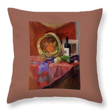 Autumn Collection Throw Pillow