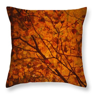 Autumn Colours Throw Pillow