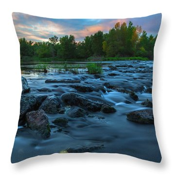 Autumn Comes Throw Pillow