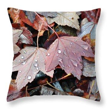 Autumn Cries Throw Pillow