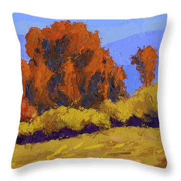 Autumn Dance Throw Pillow