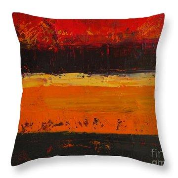 Autumn Day Throw Pillow by Patricia Awapara