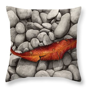 Autumn Epilogue Throw Pillow