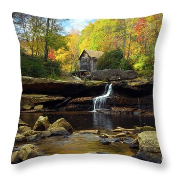 Autumn Fantasia Throw Pillow