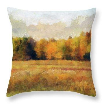 Autumn Impression 2 Throw Pillow