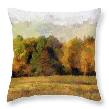 Autumn Impression 4 Throw Pillow