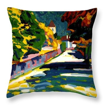 Autumn In Bavaria Throw Pillow