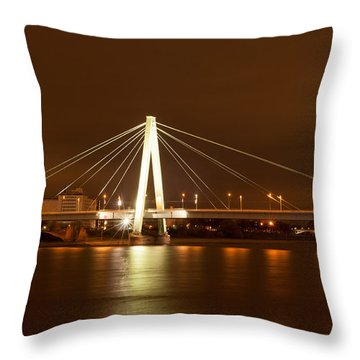 Autumn In Cologne Throw Pillow
