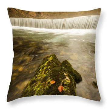 Throw Pillow featuring the photograph Autumn In Croatia by Davorin Mance