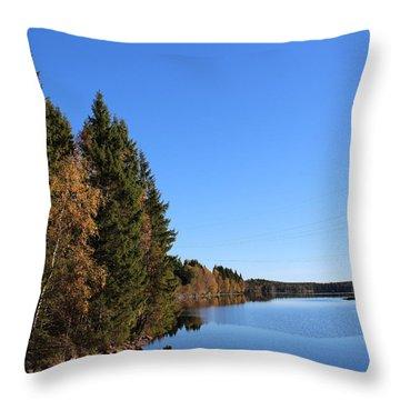 Autumn In Europe  Throw Pillow