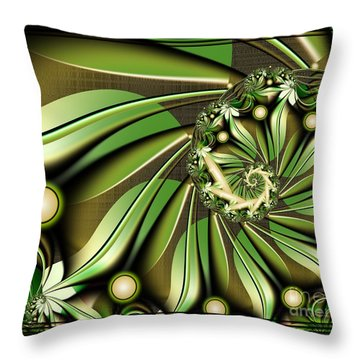 Autumn In Hawaii Throw Pillow