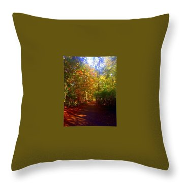 Autumn In Holland Throw Pillow