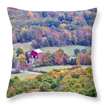 Autumn View, Mohonk Preserve Throw Pillow