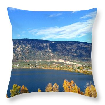 Autumn In Oyama Throw Pillow