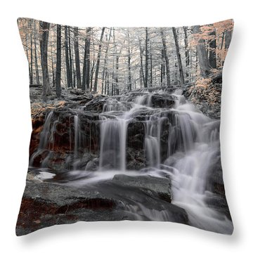 Autumn In Spring Infrared Throw Pillow