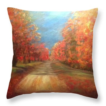 Autumn Dream Throw Pillow