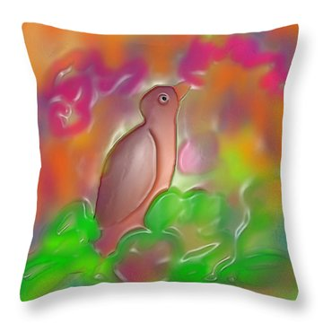 Autumn Throw Pillow by Latha Gokuldas Panicker
