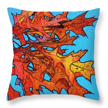 Autumn Leaves 14 Throw Pillow