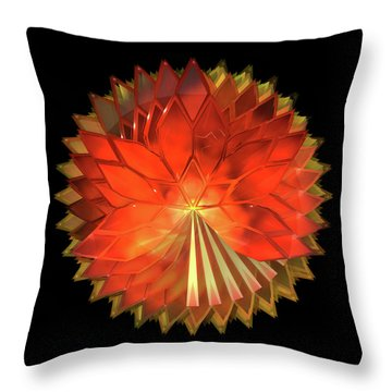 Autumn Leaves - Composition 2 Throw Pillow