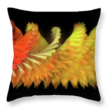 Autumn Leaves - Composition 2.2 Throw Pillow