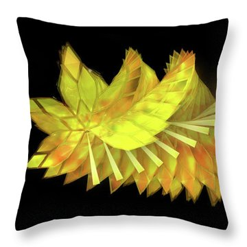 Autumn Leaves - Composition 2.3 Throw Pillow