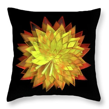 Autumn Leaves - Composition 4 Throw Pillow