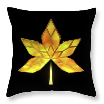 Autumn Leaves - Frame 070 Throw Pillow