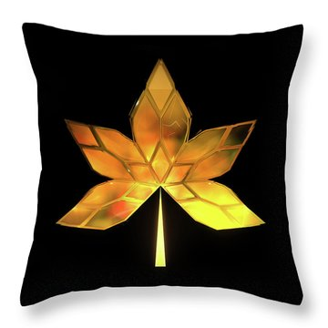 Autumn Leaves - Frame 200 Throw Pillow