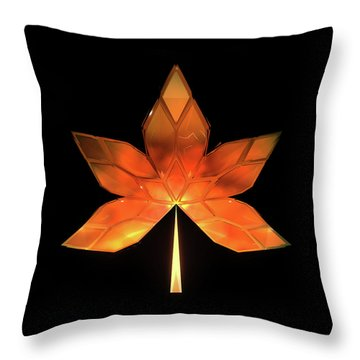 Autumn Leaves - Frame 260 Throw Pillow