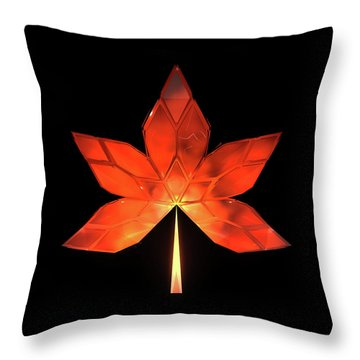 Autumn Leaves - Frame 320 Throw Pillow