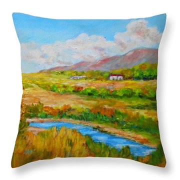 Autumn Nature Throw Pillow