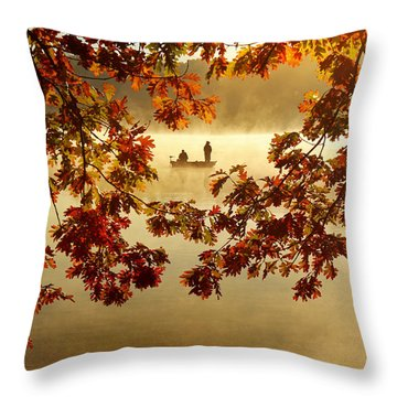 Autumn Nostalgia Throw Pillow