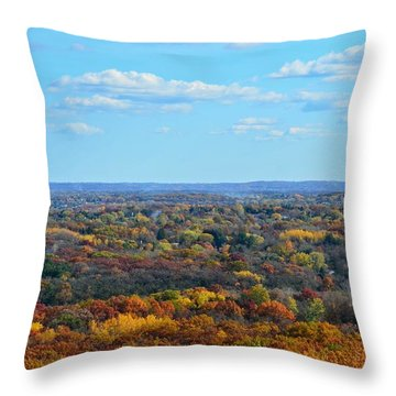 Autumn Overlook Throw Pillow