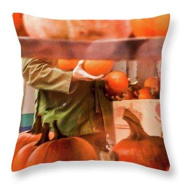 Autumn Plenty -  Throw Pillow