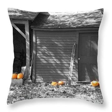 Autumn Rest Throw Pillow
