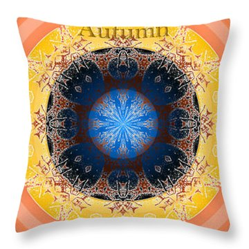 Autumn Season Throw Pillow