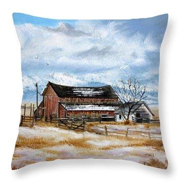 Autumn Slips Away Throw Pillow