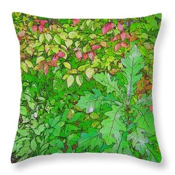 Autumn Splender Throw Pillow by Joanne Smoley