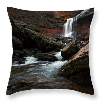 Autumn Spring Throw Pillow