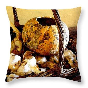 Autumn Still Life Throw Pillow