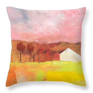 Autumn Stillness Throw Pillow