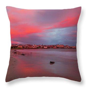Autumn Sunrise Throw Pillow by Roy McPeak