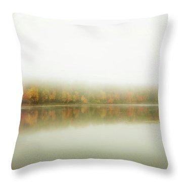 Autumn Symmetry Throw Pillow