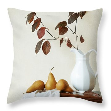 Autumn Tableau Throw Pillow