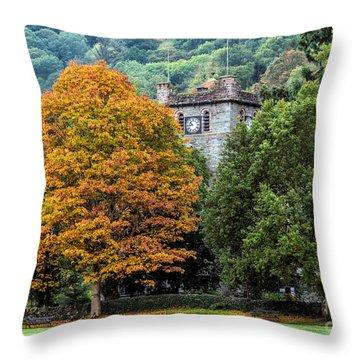 Autumn Walkers Throw Pillow