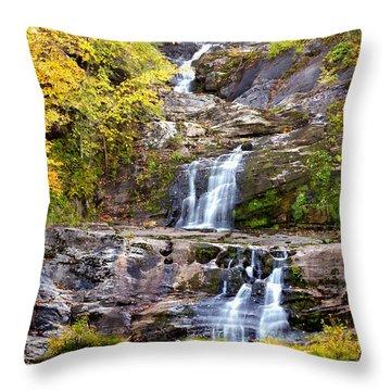 Autumn Waterfall Throw Pillow