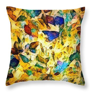 Autumn Throw Pillow by William Wyckoff