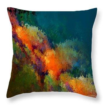 Autumnal Atmoshpere Throw Pillow